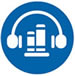 Small icon depicting audiobooks